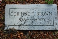 Corinne T Brown