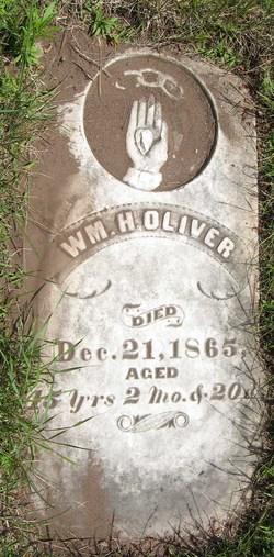 William H Oliver