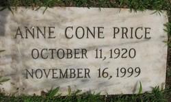 Anne <i>Cone</i> Price