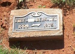 Ethel Lorena <i>Bouldin</i> Abernathy