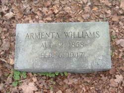Armenta W.F. <i>Swift</i> Williams