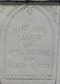 Mary Ann Lanier