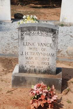 Lena <i>Vance</i> Traynham