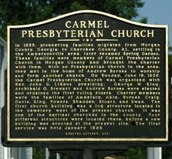 Carmel Presbyterian Church Cemetery