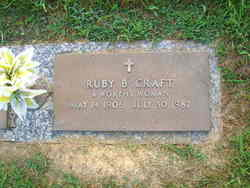 Ruby Gertrude <i>Biggs</i> Craft