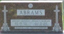 Flora Sarah <i>Morlan</i> Abrams