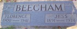 Rhoda Florence <i>Kelley</i> Beecham