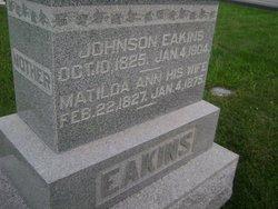 Pvt Johnson Eakins