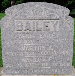 Martha Ann <i>Fitzgerald</i> Bailey