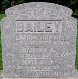 Matilda F Bailey