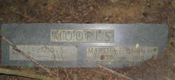 Martha Elizabeth Mattie <i>Durham</i> Moores