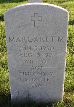 Margaret Mary <i>Demarais</i> Audette
