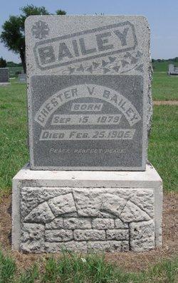 Chester V Bailey
