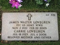 James Walter Lovegren