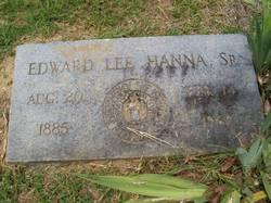 Edward Lee Hanna, Sr