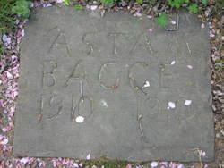 Asta M. Bagge