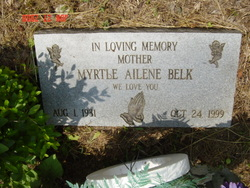 Myrtle <i>Fulfer</i> Belk