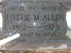 Lottie M. <i>Kilmer</i> Allen