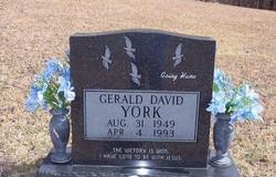 Gerald David York