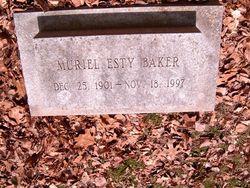 Muriel <i>Esty</i> Baker