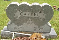 Mary Anne <i>Cline</i> Carper