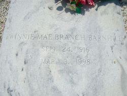 Winnie Mae <i>Branch</i> Barnhill