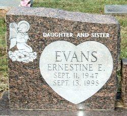 Ernestine E Evans
