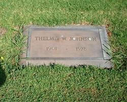 Thelma W Johnson