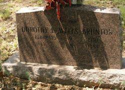 Dorothy E <i>Wells</i> Brunton