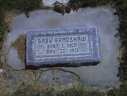 Baby Boy Bradshaw