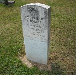 Pvt Roland R. Thomas