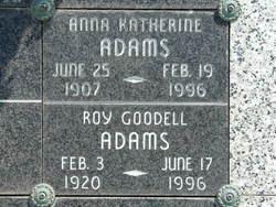 Anna Katherine Adams