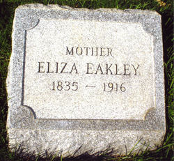 Eliza <i>Fredericks</i> Eakley