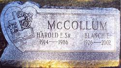 Blanche E McCollum