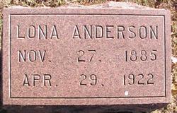 Lona <i>Dann</i> Anderson