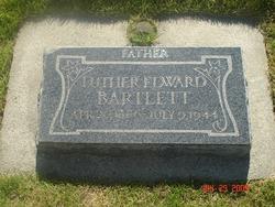 Luther E Bartlett