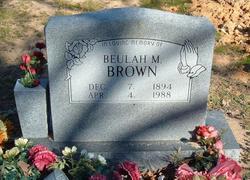 Beulah M. <i>Chapman</i> Brown