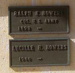 Ralph Kirk Kirkie Bowers