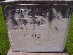 James W McCue