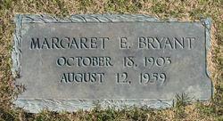 Margaret E Bryant