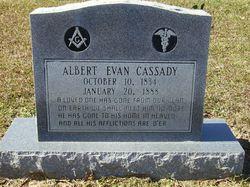 Dr Albert Evan Cassady