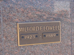 Milford F Lowell