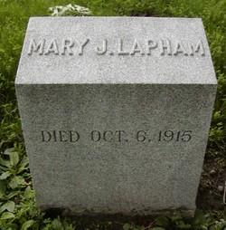 Mary J Lapham