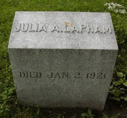 Julia A Lapham