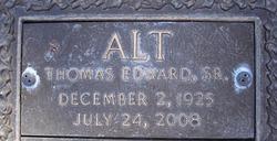 Thomas Edward Alt, Sr
