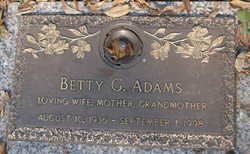 Betty G. Adams