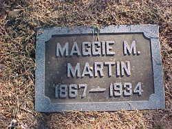 Maggie M <i>Moffet</i> Martin
