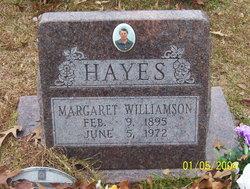 Margaret <i>Williamson</i> Hayes
