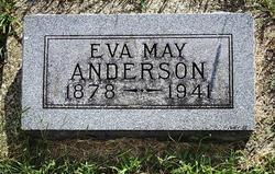 Eva May <i>Weddle</i> Anderson