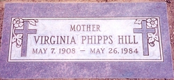 Lucy Virginia <i>Phipps</i> Hill